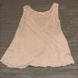 L.A. Hearts Cream Tank Top
